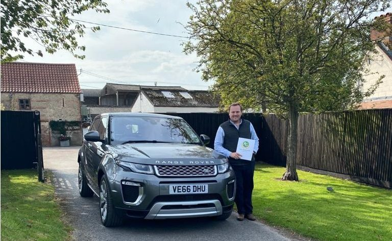 range rover evoque winner